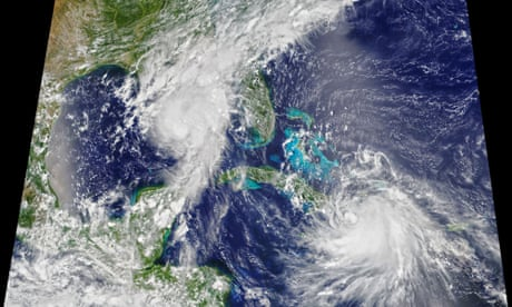 Record year for Atlantic storms as two new systems form in a day