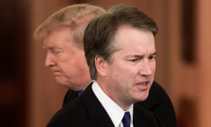 Donald Trump announces Brett Kavanaugh as his nominee to replace retiring Anthony Kennedy.