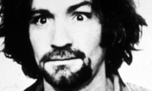 Charles Manson's police mugshot from 1969.