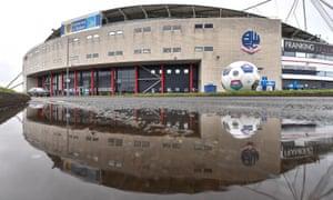 University of Bolton Stadium, home of Bolton Wanderers