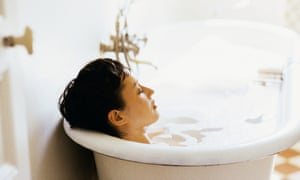 Why a daily bath helps beat depression – and how to have a