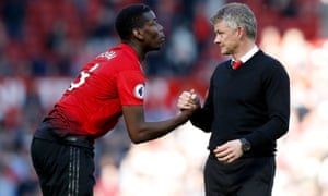 Ole Gunnar Solskjaer says he has no concerns about Paul Pogba