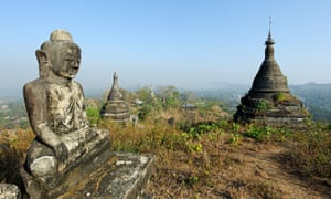 Archaeologists are in the midst of creating a registry of all of the ruins of Mrauk U.