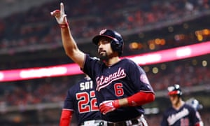 Anthony Rendon won the World Series with the Nationals this year