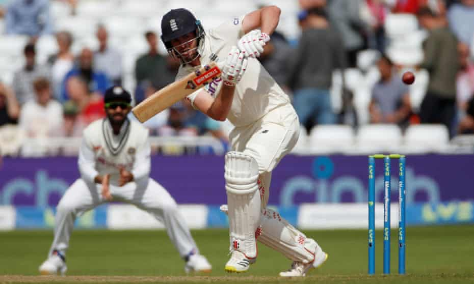Dom Sibley, pictured in action for England against India in August, is among four Lions with Test experience.