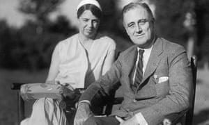 Franklin And Eleanor Roosevelt, circa 1930s.