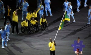 Here comes team Jamaica