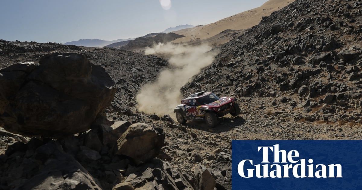 Dakar Rally 2020: sand, flames and camels – in pictures