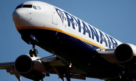 Ryanair 'jab and go' TV ad banned for encouraging Covid-19 risk-taking