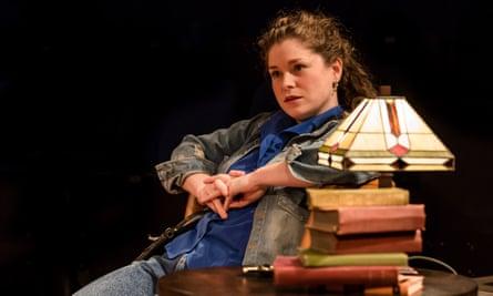 Radiant … Jessica Baglow in Educating Rita.