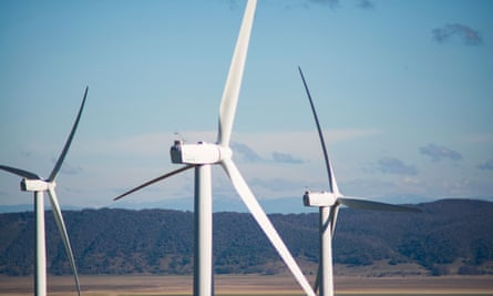 Wind turbines at Capital wind farm, the largest wind farm in NSW, will soon share the load with Silverton wind farm.