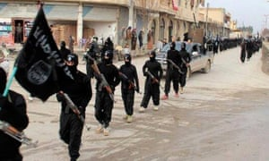 Isil members in Syria