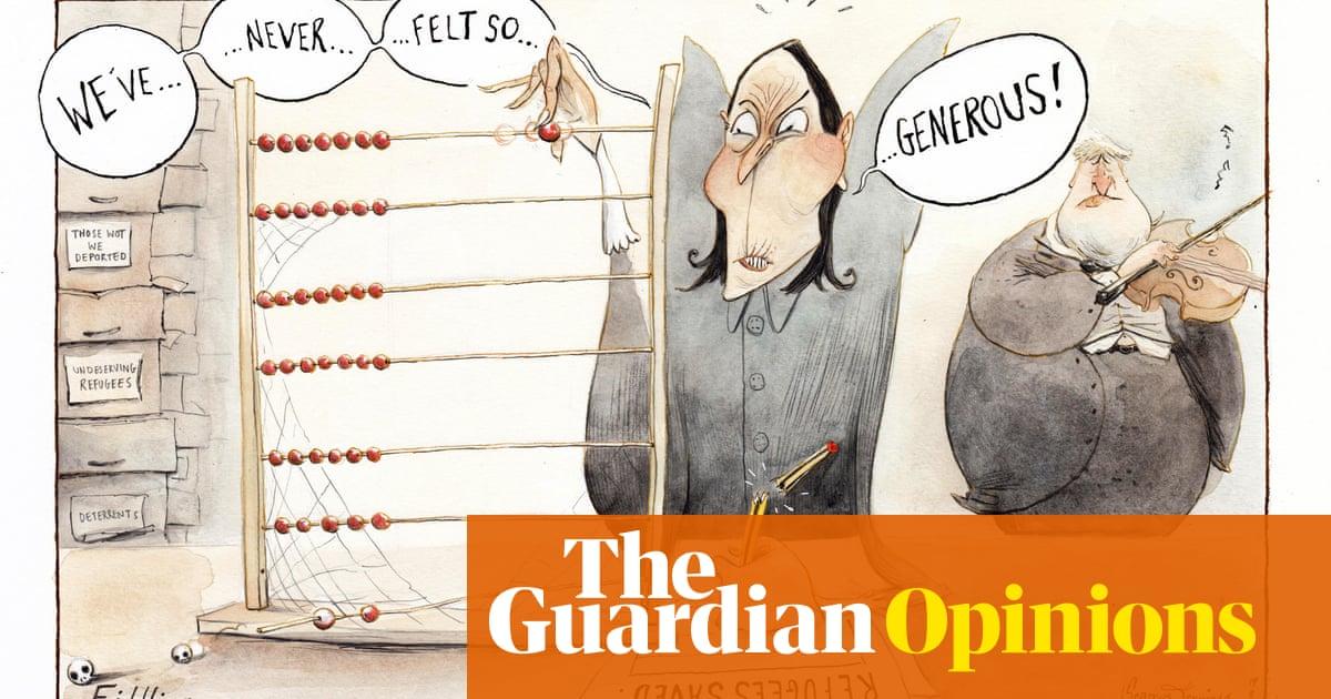 Seamus Jennings on Priti Patel's approach to refugees — cartoon