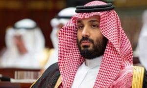 Saudi crown prince Mohammed bin Salman in Riyadh, Saudi Arabia, on 19 November.