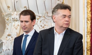Sebastian Kurz and Werner Kogler