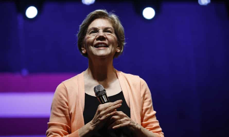 'Warren has always had a keen sense of injustice, and a righteous anger at those who perpetuate it.'