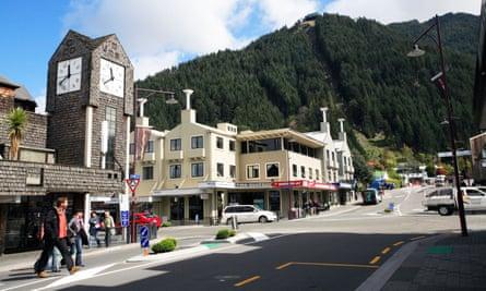 Queenstown in New Zealand