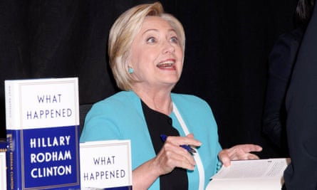 Hillary Clinton 'What Happened' book signing