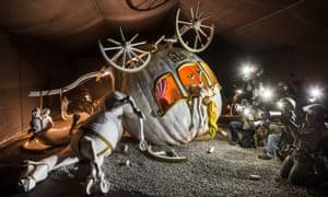 Banksy's Cinderella crash scene