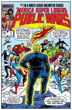 Mike Zeck cover, Marvel Super Heroes Secret Wars #11, Marvel Comics, March 1985