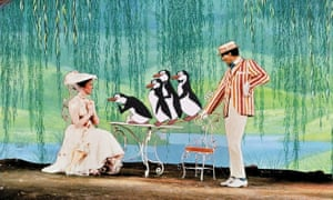Flying another kite: Julie Andrews and Dick van Dyke in Mary Poppins.