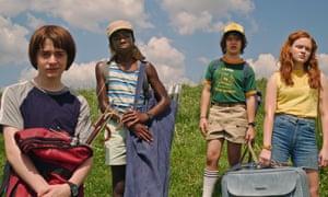 The Netflix hit Stranger Things is filmed in Georgia.