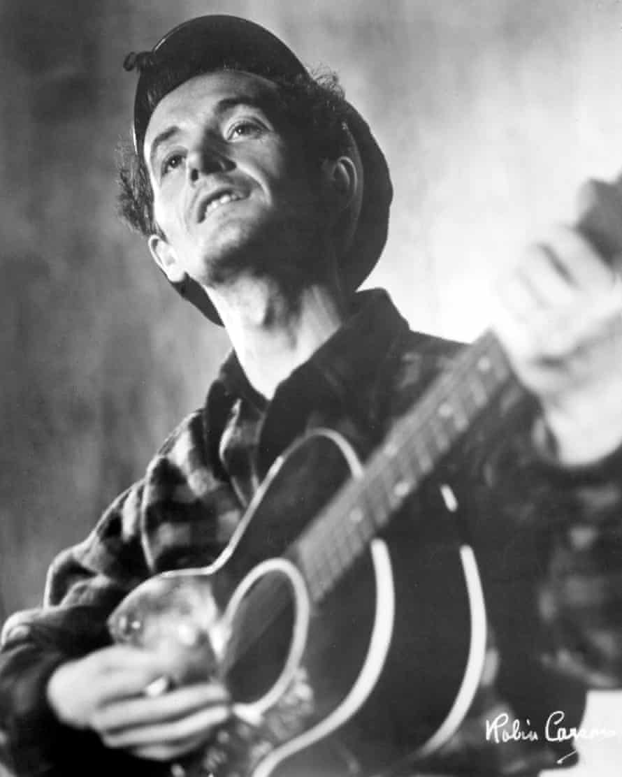 Woody Guthrie, who wrote Union Maid, inspired by an Oklahoma strike.