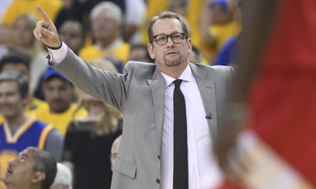 Nick Nurse coached at a number of teams in the UK before stepping up to the NBA