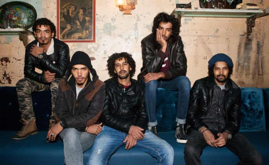 'Funky edge': Imarhan.