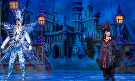 All the chemistry … Julian Clary and Dawn French in Snow White.