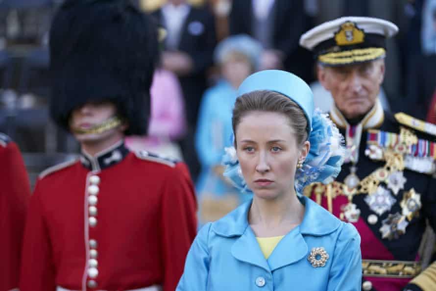 Erin Doherty as Princess Anne.