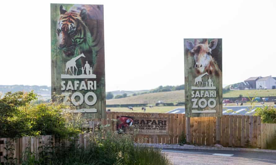 South Lakes Safari zoo in Cumbria