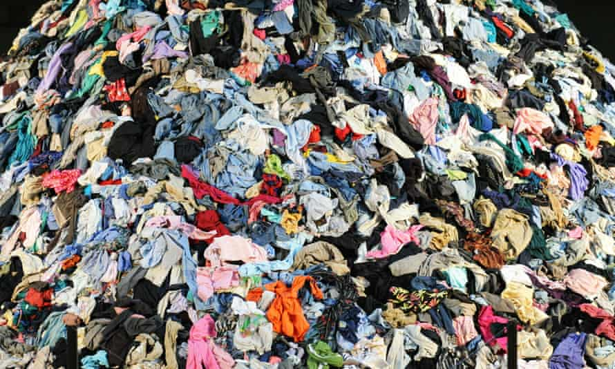 Discarded clothes