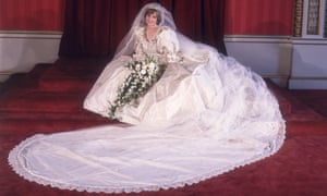Princess Diana's wedding dress may only be referenced ironically, says Shulman.