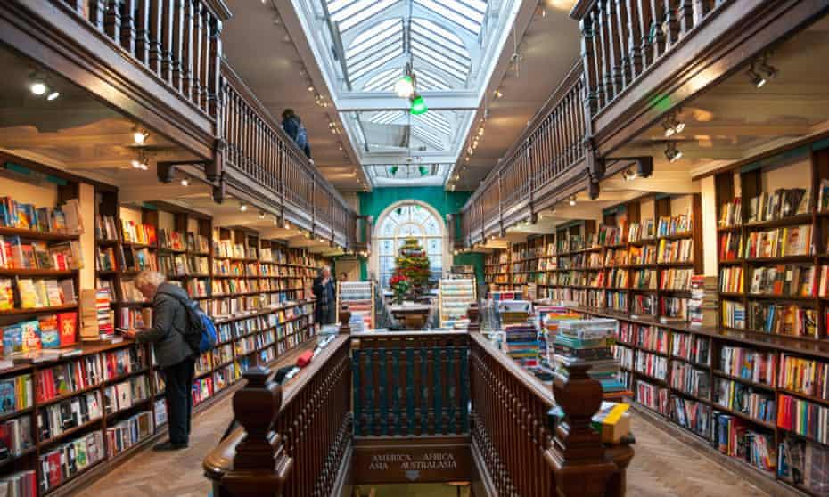 Atmospheric: the Daunt Books branch in Marylebone, London.