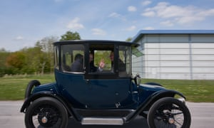 electric car made in 1916