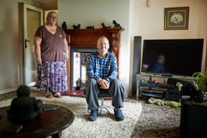 Brian and Trudy Urquhart at home in Cumbria