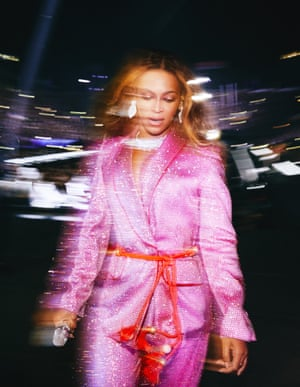 'I had a few seconds to get the shot' … Beyoncé on tour in 2018.