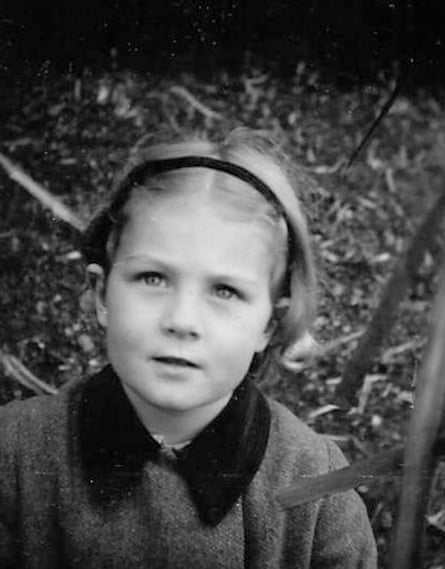 Redgrave in 1940 as an evacuee aged three: the photo appears in her documentary Sea Sorrow, being shown at Cannes.