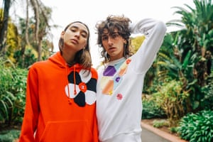 Models in streetwear