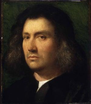 Giorgione: Portrait of a Man.)