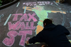 'Piketty's big idea is to tax capitalism out of existence': an Occupy Wall Street protester, New York, September 2013
