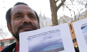 Benny Wenda, leader of the West Papuan Independence Movement, is hoping to gather regional support for his cause at the Pacific Islands Forum in Tuvalu this week.