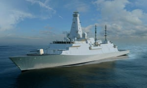 The planned Type 26 frigate