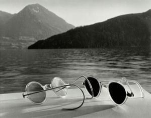 Sunglasses Lake Lucerne Switzerland, 1936