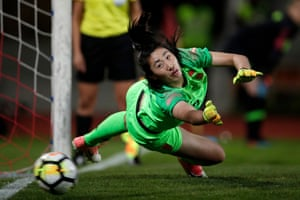Peng Shimeng has emerged as China's first-choice goalkeeper at the age of just 19.