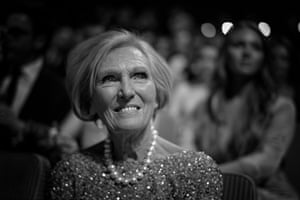 Bake off presenter Mary Berry in the auditorium