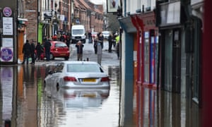 York after the Foss burst its banks in 2015