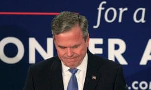 Jeb Bush pauses
