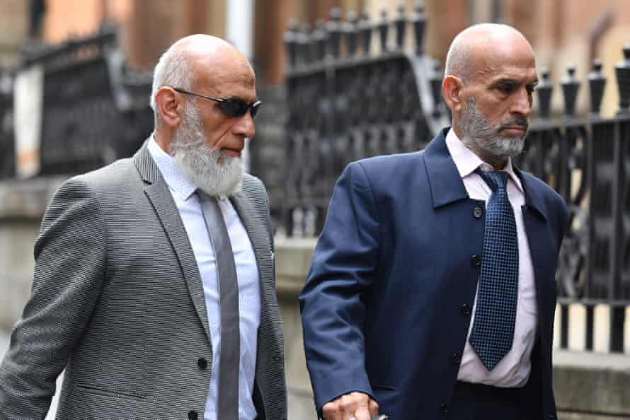 Ibrahim Elomar and Mamdouh Elomar arrive at the Supreme Court of NSW in Sydney.